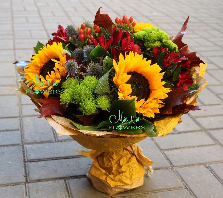 Доставка цветов, букетов и корзин. Санкт-Петербург. Цветы с доставкой на дом.
