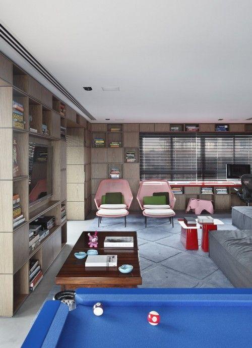 Проект пентхауса в Сан-Паулу (Бразилия) « Мебель для Вашего дома