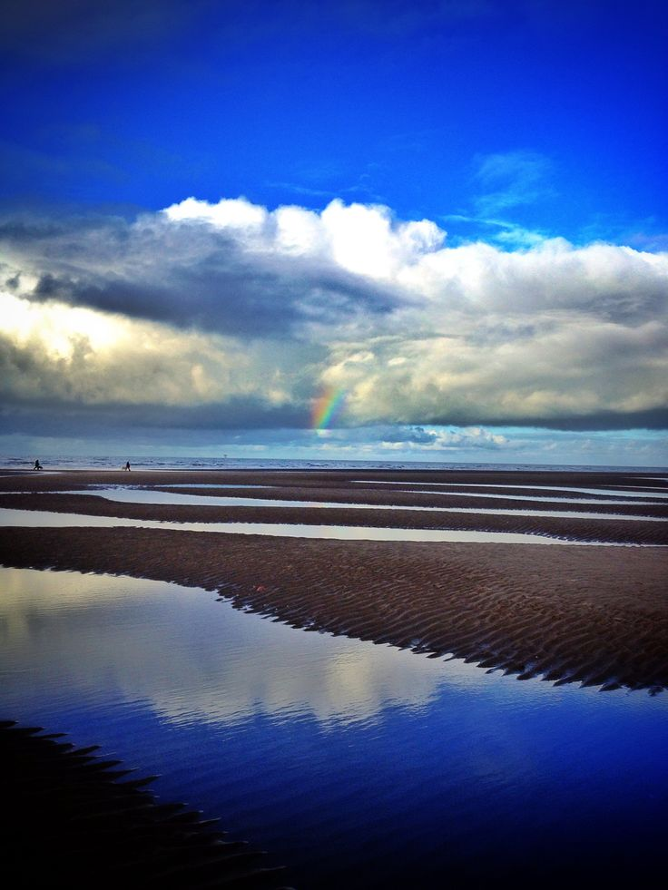 Over the rainbow at Formby
