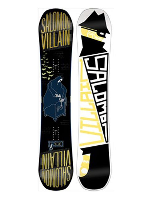 2015 Salomon Villain Snowboard 153cm, we had some pretty heavy guys ride these this Winter and nothing but thumbs up