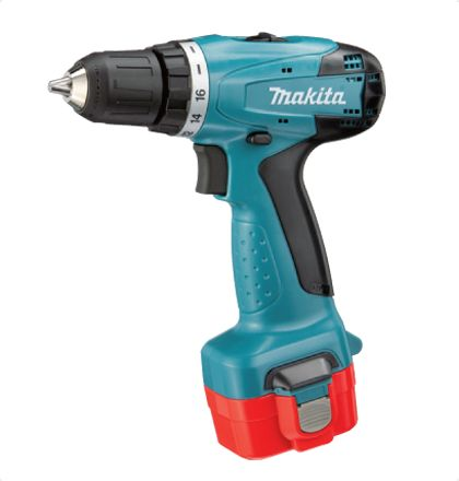 Makita 8281DWPE Cordless Hammer Driver Drill     Compact and lightweight design provides excellent control and maneuverability.     Single sleeve keyless chuck allows for easy bit installation/removal with one hand.     All metal gear construction ensures high transmission durability. For More Details: http://www.mrthomas.in/makita-8281dwpe-cordless-hammer-driver-drill_6