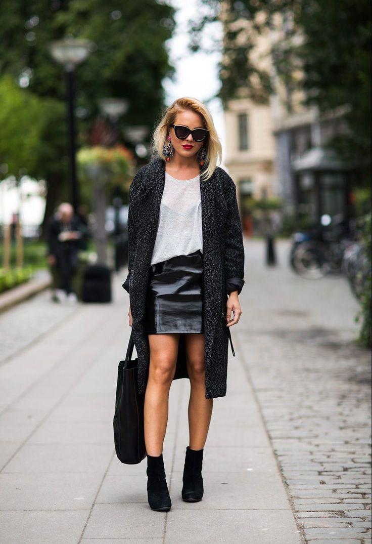 awesome Такие разные черные юбки (50 фото) — С чем носить и как сочетать?