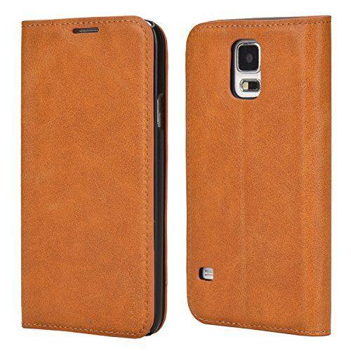 SAMSUNG GALAXY S5 STAND CASE: Samsung Galaxy S5 / S5 Neo étui en cuir PU (polyuréthane) d'excellente qualité avec une robuste coque…