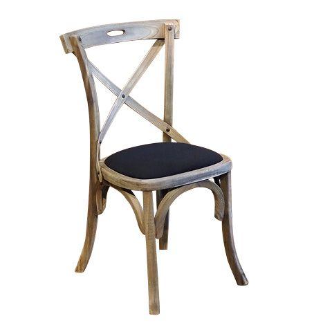 Легкий и прочный стул из дерева минди (mindi) c мягким сиденьем, обитым тканью. Возможно сменить обивку стула на более подходящую для вашего интерьера.             Метки: Венские стулья, Кухонные стулья.              Материал: Ткань, Дерево.              Бренд: Teak House.              Стили: Лофт, Прованс и кантри.              Цвета: Коричневый, Черный.