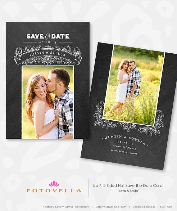 18 Best Save The Date Templates Images On Pinterest | Save The
