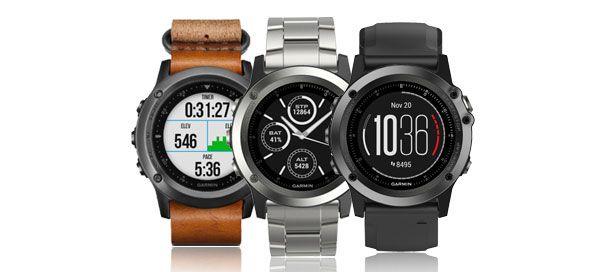 Garmin apresenta novos relógios desportivos fēnix 3 Sapphire