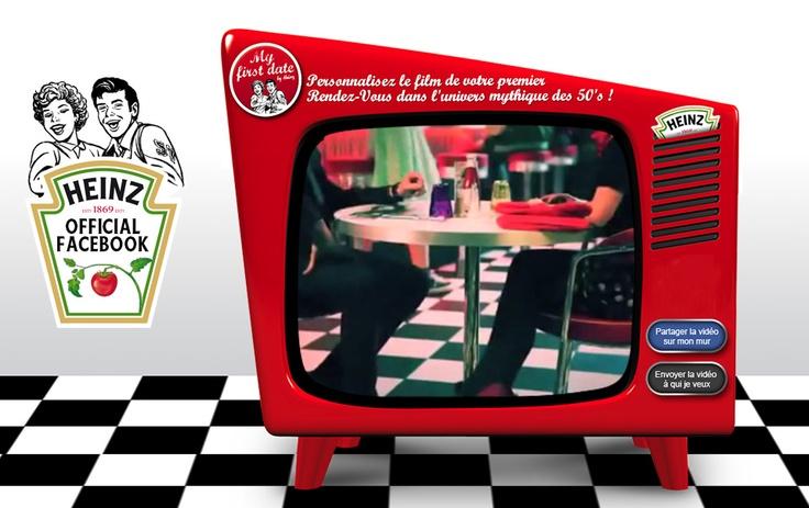 Heinz - Expérience de marque  http://www.facebook.com/heinz.ketchup.france  Storytelling autour du mythe Heinz  + 19 532 fans
