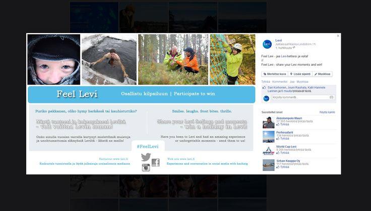 #FeelLevi kampanjan konseptointi, suunnittelu ja toteutus verkkosivuille sekä sosiaalisessa mediassa.  // A campaign concept design and implementation on website and on social media. #LeviLapland #Levi #Web #Socialmedia #Facebook #Twitter #Instagram #MarikaWork