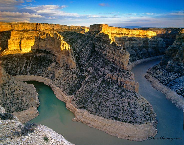 Gorgeous shot of Bighorn Canyon. Montana.