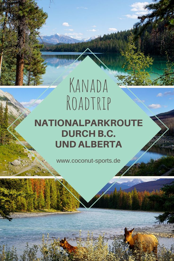 Kanada Rundreise: Highlights auf der Nationalparkroute von Vancouver nach Banff