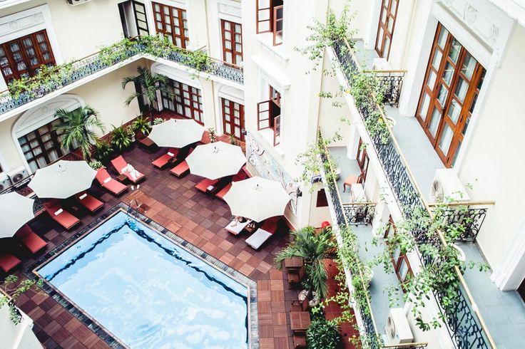 The place : Majestic hotel, Ho Chi Minh City, Vietnam