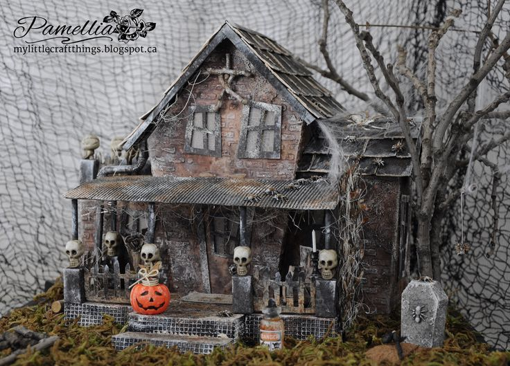 you have to check this out this haunted check haunted house