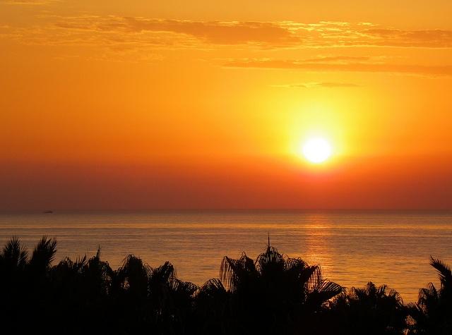 sunrise, via Flickr.