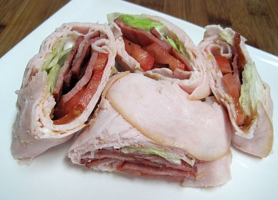 No Carb BLT and Turkey Wraps!