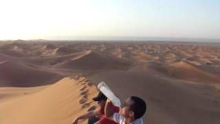 Zonsondergang in de #Chigaga woestijn. Beleef het tijdens een #Marokko #rondreis van #Marokko online