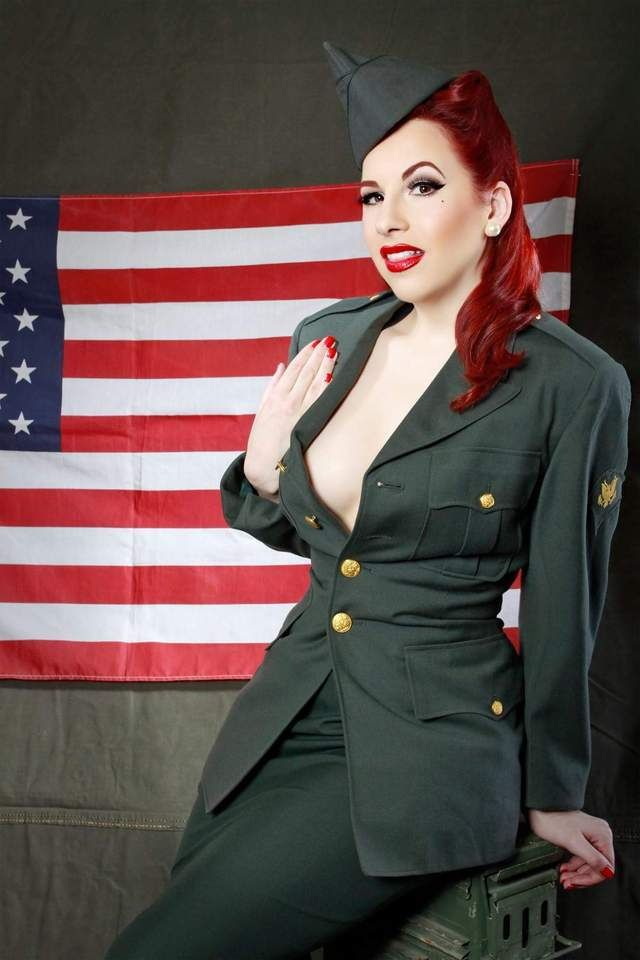 1313 best images about Salute This on Pinterest | Pin up girls, Military and Pin up