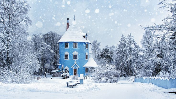First Snowfall.Naantali, Finland.  #travel-paradise divine