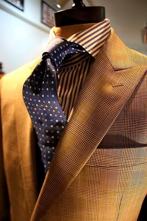 Suit and tie fixation
