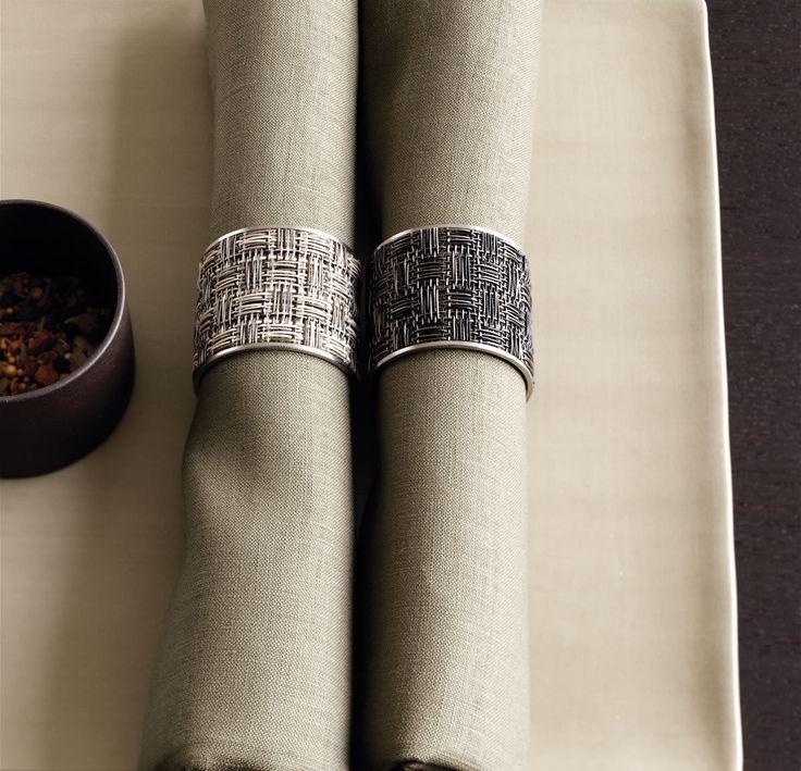 Elegant napkin rings