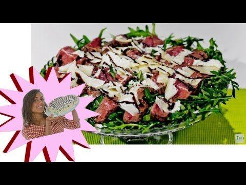 Un viandante in cucina: Tagliata di Manzo Rucola e Grana - Le Ricette di A...