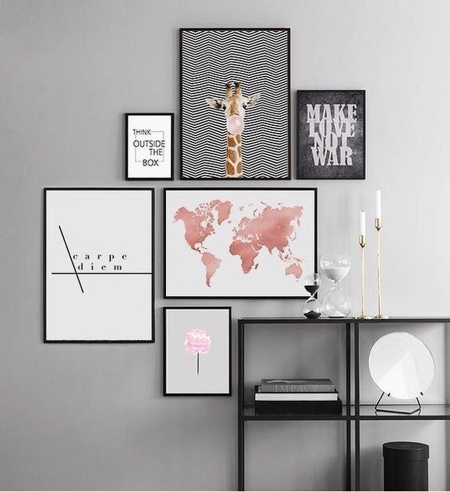 Pin By Hassnae Oukmi On Decoracao Tumblr Room Decor Bedroom Frames Home Wall Art