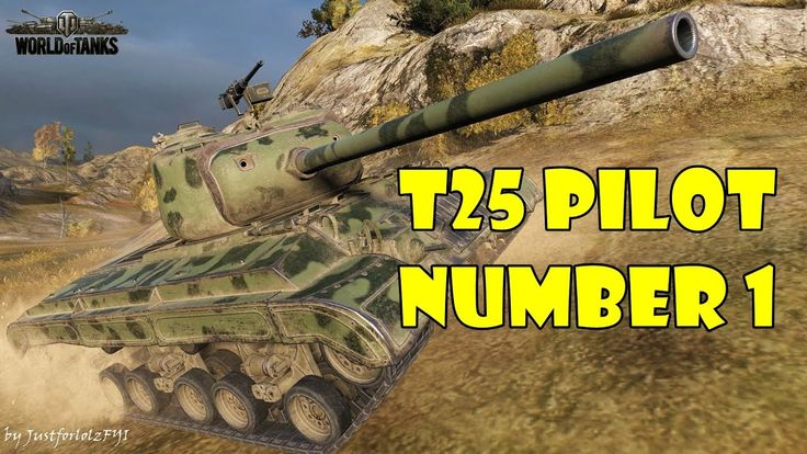 World of Tanks - T25 Pilot Number 1 Review & Gameplay