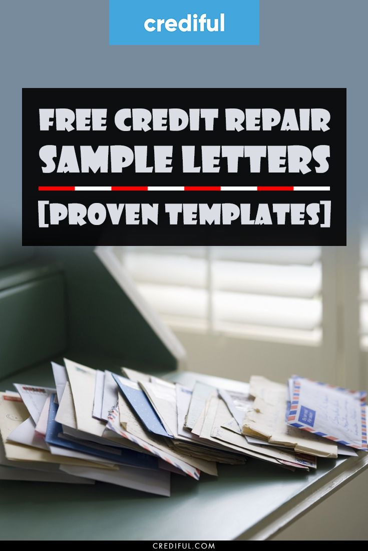Free Credit Repair Sample Letters For 2020 Proven Templates