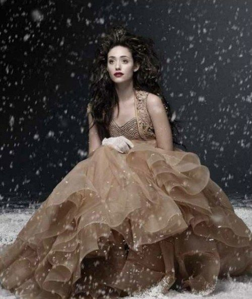 Emmy Rossum | I'm going to be honest : I think she's one of the prettiest women in the world right now. I appreciate her role in The Phantom of the Opera, and I like the fact that she tried to have a career in Pop using her Classical training, but she's not my favourite singer.
