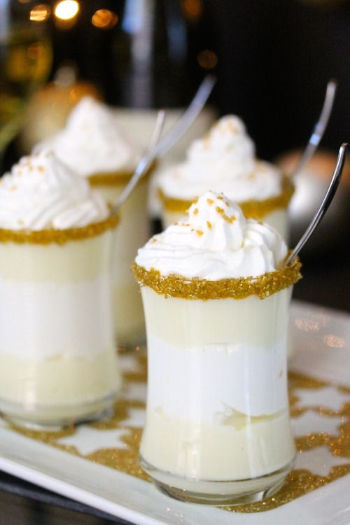 Chardonnay Chantilly Cream Dessert - Treat your guests this NYE!