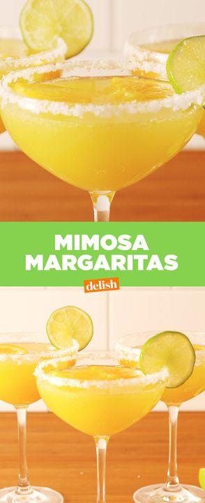 Mimosa Margaritas = brunch GOALS. Get the recipe from Delish.com.