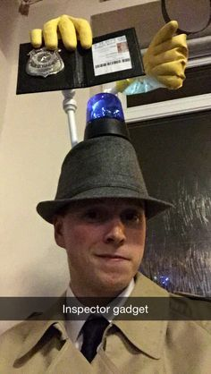 Community Inspector Gadget Costume Diy inspector gadget and penny costumes…