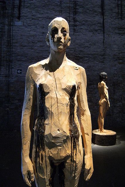 Aron Demetz - Senza Titolo    Venice Biennale
