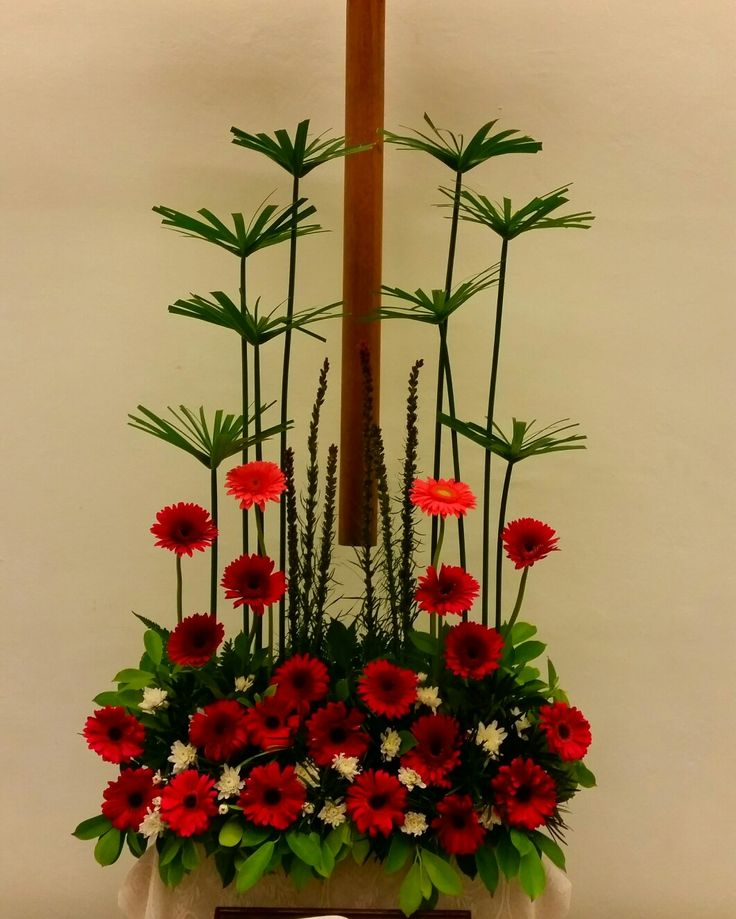 Church Altars Modern Flower Arrangement: 53 Best EMCLC☆ Church Altar Flower Arrangements Images On