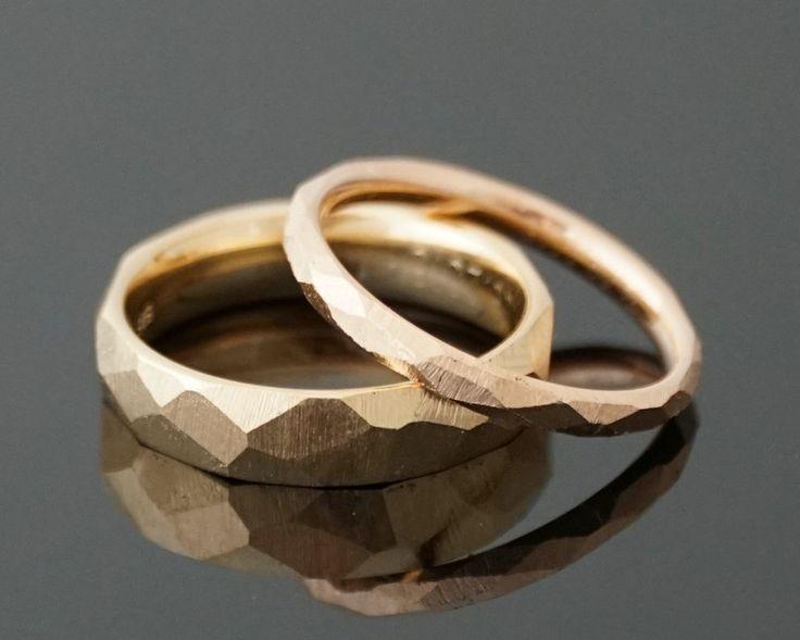 Eheringe - Eheringe FACETTE INDIVIDUELL - ein Designerstück von mein-Lieblingsring bei DaWanda