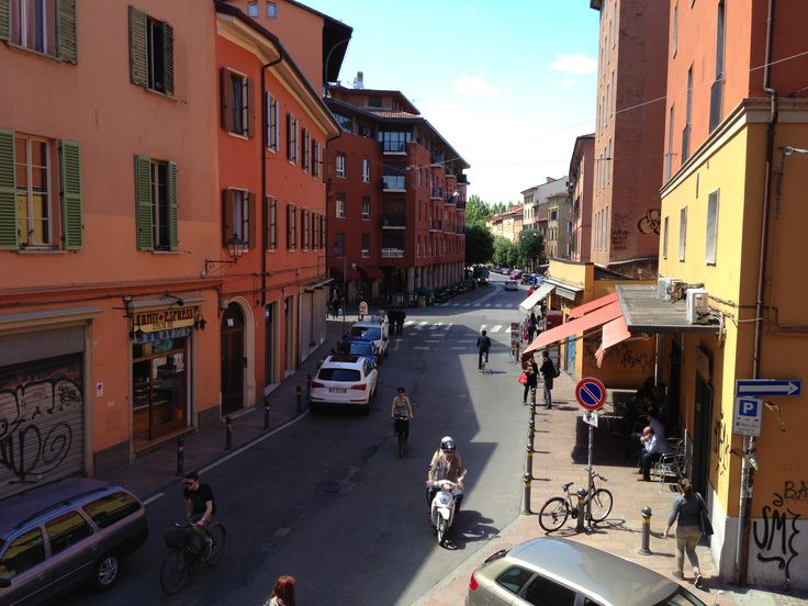 View from our apartment #Bologna #LikeALocal #Blogville