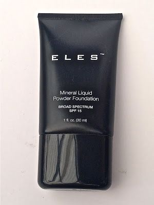Australian Makeup And Beauty: Review: ELES Liquid Powder Mineral Foundation SPF 15