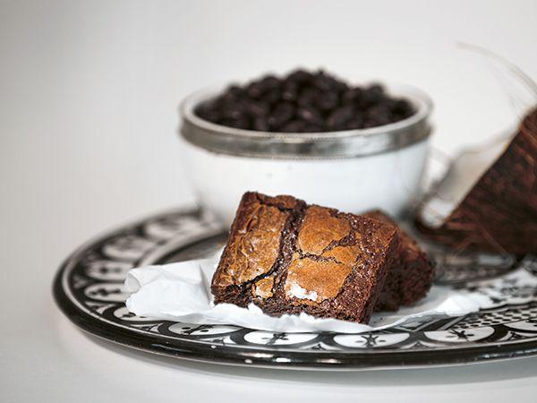 Kladdkaka med svarta bönor | Recept från Köket.se