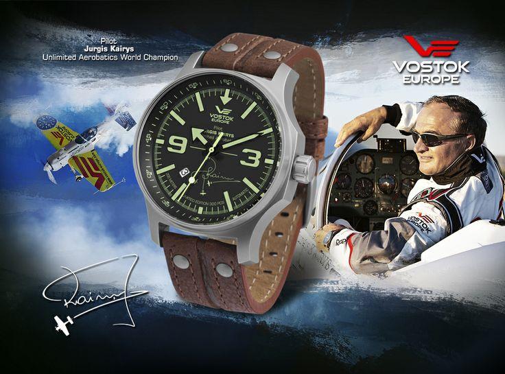 Jurgis Kairys Vostok-Europe Special Edition #VostokEurope #JurgisKairys #watch #automatic