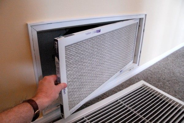 Change Furnace Filter Air Conditioner Maintenance Diy Air Conditioner Central Air Conditioners