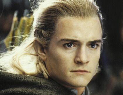 """Obwohl die """"Herr der Ringe""""-Trilogie acht Jahre her ist, hat Legolas-Darsteller Orlando Bloom beim """"Hobbit""""-Dreh keine Probleme, sogar jünger.."""