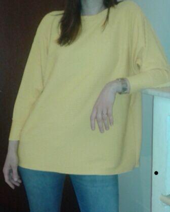 Maglia gialla donna