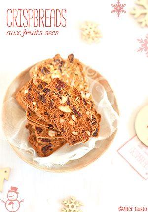 Crispbreads - Pain croustillant aux fruits secs Alter Gusto