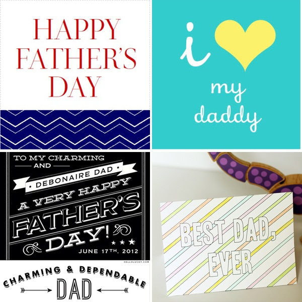 free father's day subway art