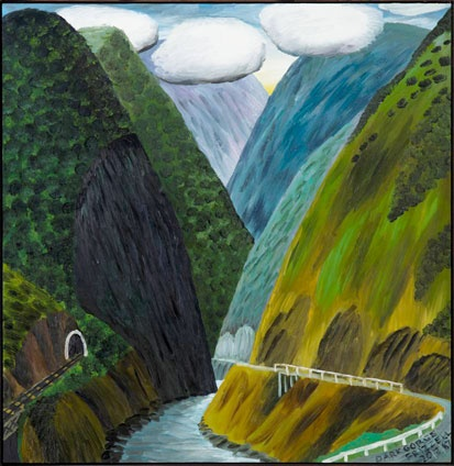 Dick Frizzell   Dark Gorge