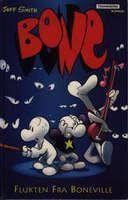 """""""Bone - flukten fra Boneville"""" av Jeff Smith"""