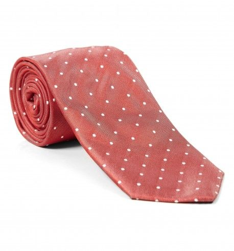 Hackett - £45 silk tiny dot tie