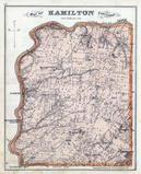 Hamilton Township, Dallasburg, Murdock, Hopkinsville, Comargo, Fosters, Atlas: Warren County 1875, Ohio Historical Map