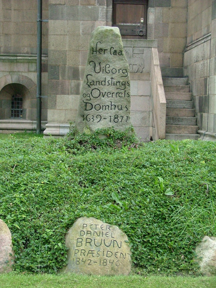 In church yard, Viborg
