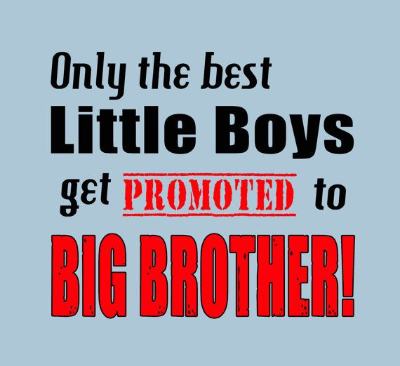 PROMOTED TO BIG BROTHER T-shirt! By Funhousetshirts.com $13.99