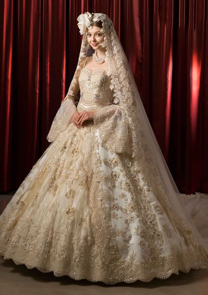 本物のプリンセス!フォーマルな花嫁衣装を着たい!ドレス参照一覧まとめ♡